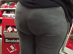 BBW Wide Hips and Ass in Tights