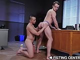 FistingCentral Asian Dude Crawls To Fist His Boss Hole