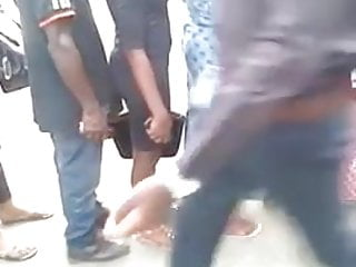 African man encoxada rubbing ass