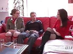 Casting du canapé d'une étudiante française anale baisée et branchée