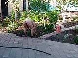 Granny gardening