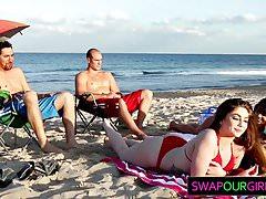 Strandköder und nüchterner Austausch