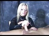 Rough Blonde Handjob