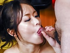 Busty beauty starts throating  - More at javhd.net