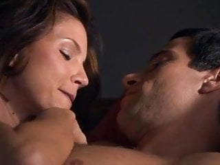 Massage Softcore Brunette video: Charisma Carpenter sex scenes in Flirting with danger
