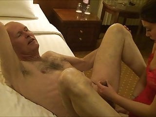 Strapon Fucked Escort video: Ulf Larsen fucked - 35 years age difference
