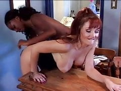 Mature Alexis Fire and Young Promise Lesbian Lovers