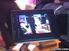 Blonde Gets Rang DP Gangbang Video Taped