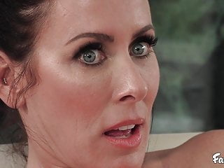 Blowjob Brunette Big Tits video: Big Tits Stepmom Reagan Foxx Fucks Big Dicked Stepson