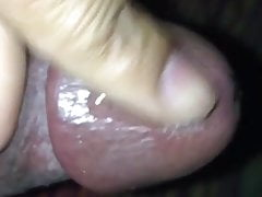 Masturbazione con palle legate