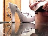 Delicious Chunky Heel Sandals Get Fucked