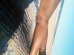 Ebano in spiaggia parte 3