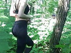 Quickie dans les bois