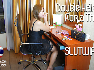 Double Helping For Thai Slutwife (New Jan 22, 2019)