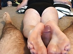 Footfuck da primeira vez