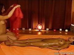 Exotische indische MILFs Massage