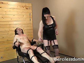 Stockings Bdsm Femdom video: Sensual Torture by Mistress Sarah Kelly - Screaming bitch