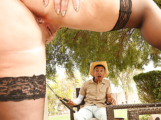 Blonde Big Tits Milf video: Desperate Mom Alura TNT Jenson Takes Advantage of Young Boy