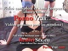 Beurette sodo anal è 4 ragazzi nella catena !!! Ama francese