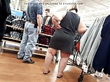 Ssbbw mom shopping with family