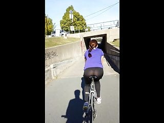 Bike Hd Videos See Through video: See Through spandex VTL on Bike