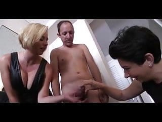 Cuckold Bdsm video: Horny wife femdom pegging