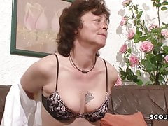 Casting porno dla niemieckiej mamy i taty za pieniądze