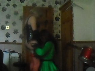 Stockings Shemale Amateur Shemale video: me and my sissy maid kate