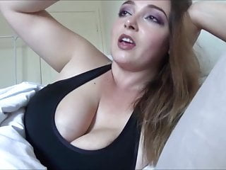Handjob Milf Big Natural Tits video: Virtual wank lesson