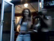 18+ teen sisters sexy dance on webcam