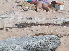 Gorąca krótkowłosa laska, którą spotkałem na plaży 2