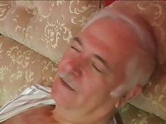 Older couple fuck in room