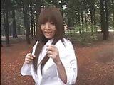 Hitomi is black belt in Karate