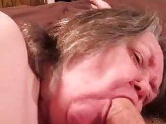 BBW Granny Blowjob 2