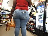 Thick ass bbw fat ass Family Dollar