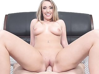 Pov Blonde Blowjob video: Harley Jade shows why all Guys dream of Slutty Sorority Girl