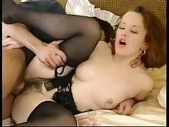 vintage seks owłosiony pończochy