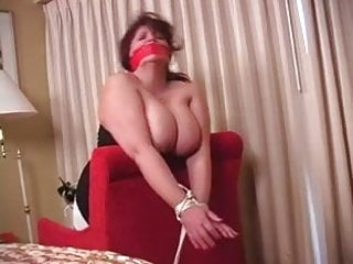 Milf Mature Mom video: Elane Hershey bound and gagged and fucked 2