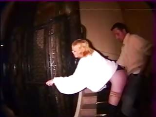 Amateur Public Nudity French video: Girl anally abused in stairs