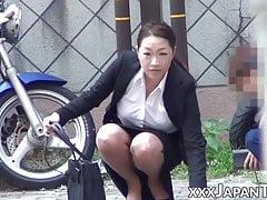 Japanese Women Kneaded In Public By Insane Voyeurs