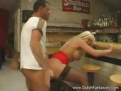 Blonde Dutch Babe Hardcore Big Tits Fuck