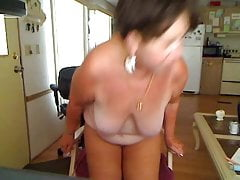 Granny Singing And Fapping On Webcam