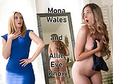 Lesbians Pornstars Mom video: Do you like your Mommy licks you gently?