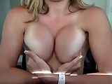 Girl showing off her new implants Part 2-Homemade Amateur Video