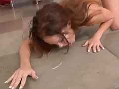 Massive Bukkake Facial Megan -Rubin-