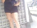 bucetudas com a roupa colada no corpo brunette hot big  A67