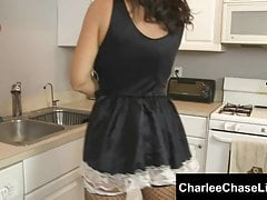 Submissive Tampa MILF Charlee Chase is Maid to Please!