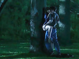 Jessica Pare Sex Against A Tree In Lost And Delirious Movie