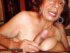 Slideshow di immagini della nonna amatoriale di LatinaGrannY