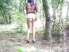 sexe dans les bois